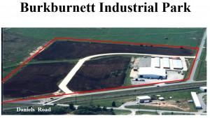 Burkburnett Industrial Park Aerial 1