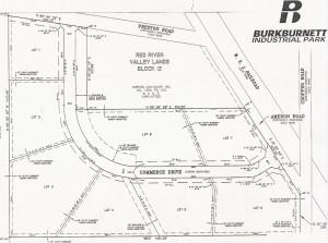 Burkburnett Industrial Park Site Layout